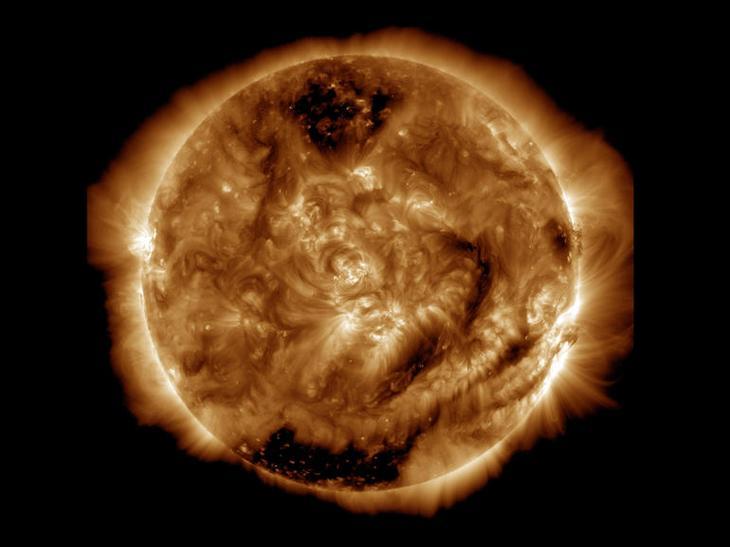 5 лет наблюдений за Солнцем в одном видеоролике