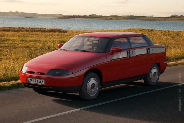 «Яуза» — самый необычный автомобиль СССР (5)