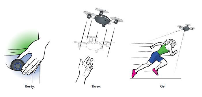 Lily — умная камера-дрон летает за тобой