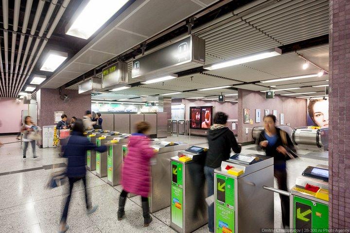 Как устроен метрополитен в Гонконге (10)