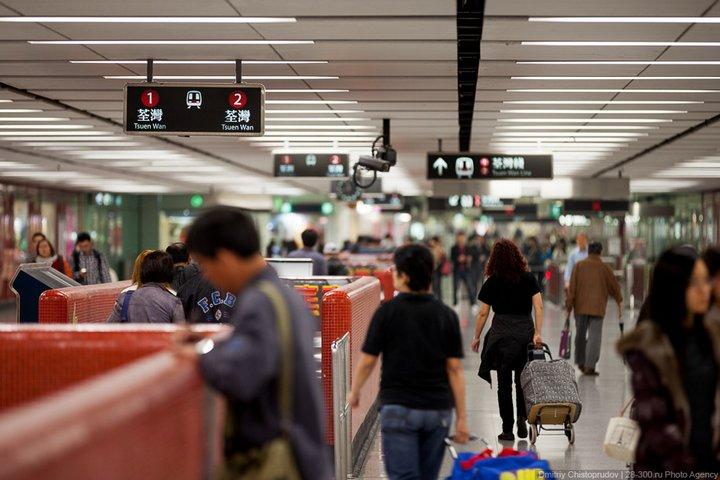 Как устроен метрополитен в Гонконге (12)