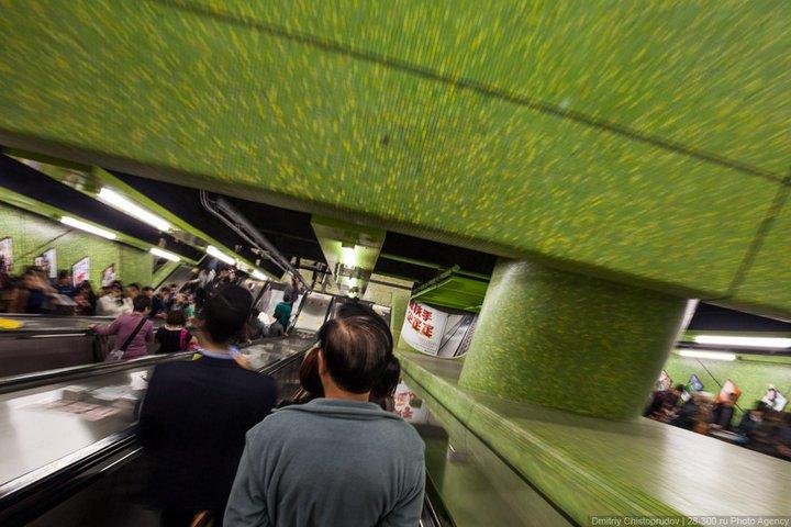Как устроен метрополитен в Гонконге (13)