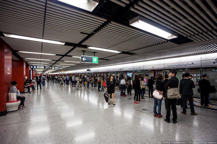 Как устроен метрополитен в Гонконге (17)