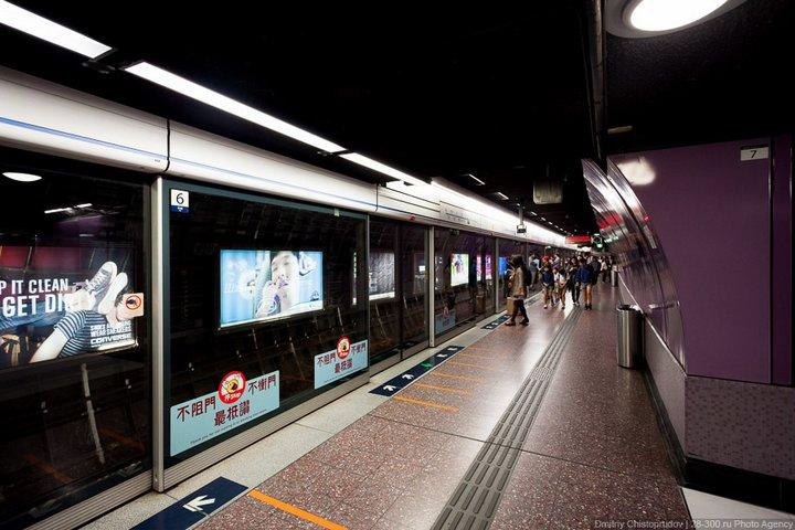Как устроен метрополитен в Гонконге (20)