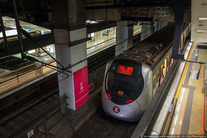 Как устроен метрополитен в Гонконге (21)