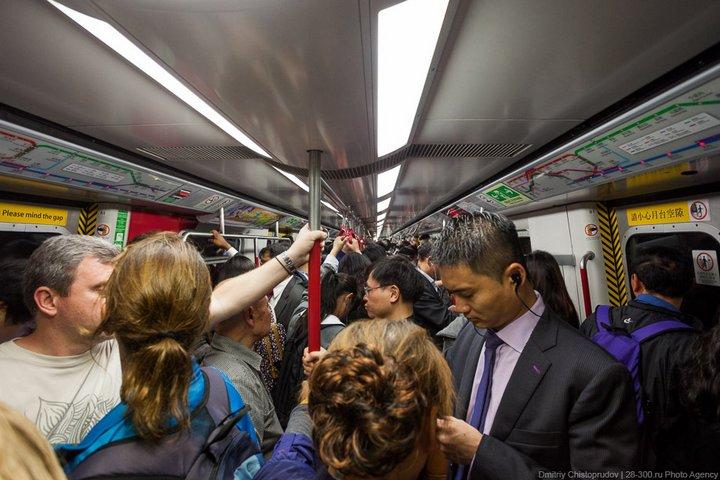 Как устроен метрополитен в Гонконге (23)