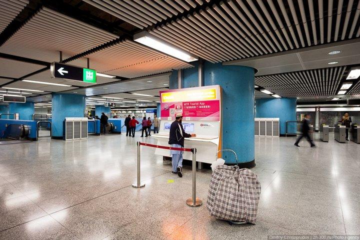 Как устроен метрополитен в Гонконге (29)