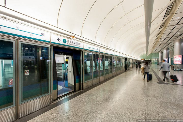 Как устроен метрополитен в Гонконге (35)