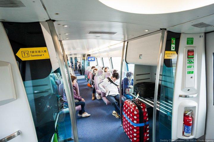 Как устроен метрополитен в Гонконге (37)