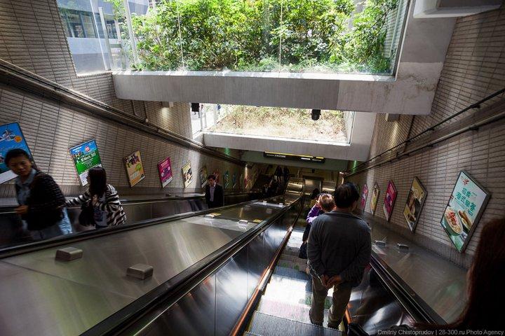Как устроен метрополитен в Гонконге (6)