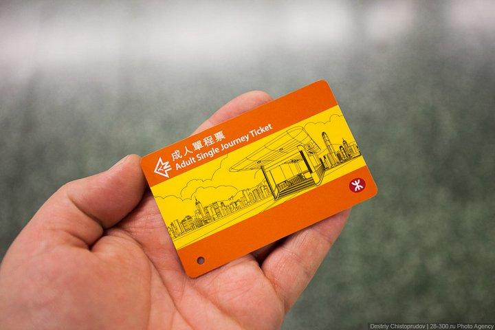 Как устроен метрополитен в Гонконге (9)