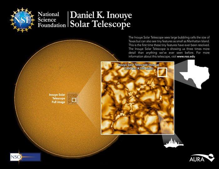 Как выглядит поверхность солнца через объектив самого мощного телескопа (3)