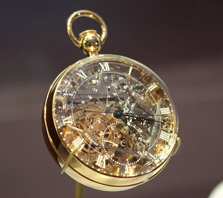 Уникальные часы Абраама-Луи Бреге