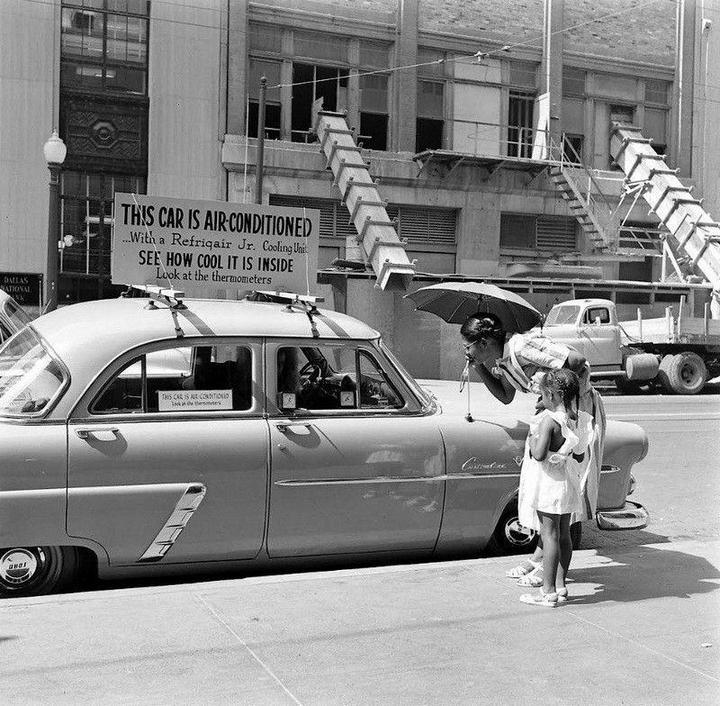 Холодный воздух навынос: как охлаждали автомобили до эпохи кондиционеров